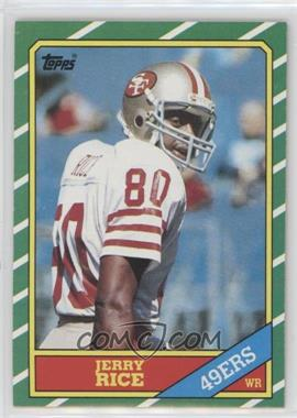 1986 Topps - [Base] #161 - Jerry Rice