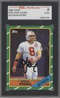 Steve Young [SGC AUTHENTIC AUTO]