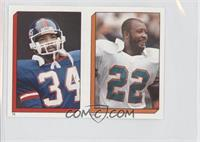 Tony Nathan, Elvis Patterson