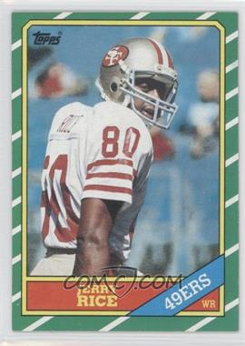 1986 Topps #161 - Jerry Rice