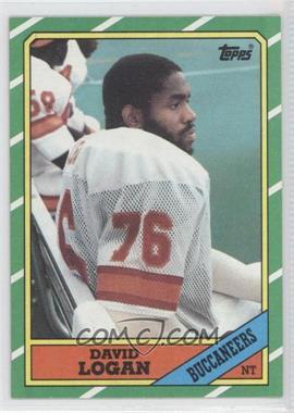 1986 Topps #381 - David Logan