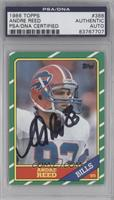 Andre Reed [PSA/DNACertifiedAuto]