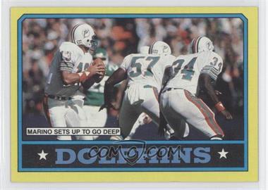 1986 Topps #44 - Dan Marino