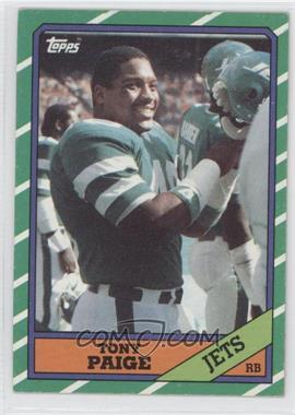 1986 Topps #97 - Tony Paige