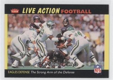 1987 Fleer Live Action Football #42 - [Missing]