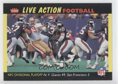 1987 Fleer Live Action Football #63 - [Missing]