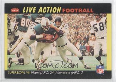 1987 Fleer Live Action Football #72 - [Missing]