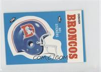 Denver Broncos Helmet