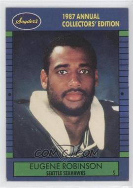 1987 Franz Seattle Seahawks - [Base] #9 - Eugene Robinson