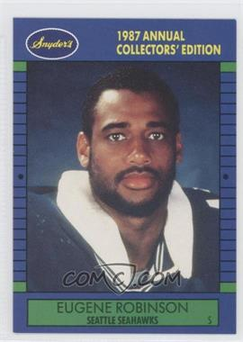1987 Franz Seattle Seahawks #9 - Eugene Robinson