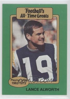 1987 Hygrade Football's All-Time Greats - [Base] #LAAL - Lance Alworth