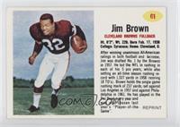 Jim Brown 1962 Post