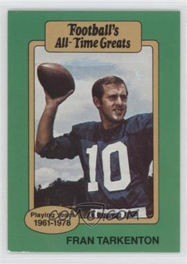 1987 Hygrade Football's All-Time Greats #FRTA - Fran Tarkenton