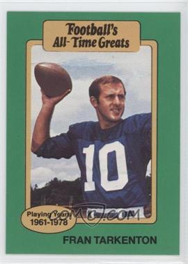 1987 Hygrade Football's All-Time Greats #FRTA - Fran Tarkenton