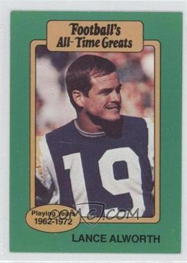 1987 Hygrade Football's All-Time Greats #N/A - Lance Alworth