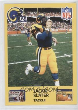 1987 Jell-O Los Angeles Rams #78 - Jackie Slater
