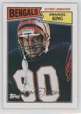 1987 Topps - [Base] #196 - Emanuel King