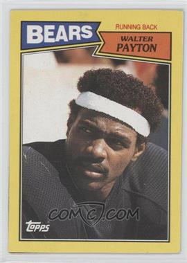 1987 Topps Box Bottoms #J - Walter Payton