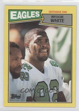 1987 Topps Box Bottoms #N/A - Reggie White