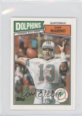 1987 Topps United Kingdom American Football #51 - Dan Marino
