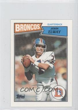 1987 Topps United Kingdom American Football #6 - John Elway
