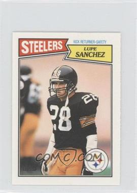 1987 Topps United Kingdom American Football #60 - Lupe Sanchez