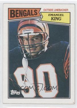 1987 Topps #196 - Emanuel King