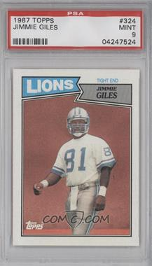 1987 Topps #324 - Jimmie Giles [PSA 9]