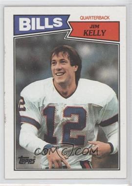 1987 Topps #362 - Jim Kelly