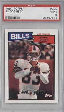 1987 Topps #365 - Andre Reed [PSA 9]