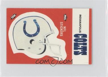 1988 Fleer Live Action Football Stickers #INCO - Indianapolis Colts