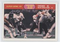 Super Bowl XX (Chicago Bears, New England Patriots)