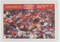 Super Bowl XIX (San Francisco, Miami Dolphins)