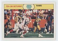 League Leading Team - TD's On Returns ( Los Angeles Rams)