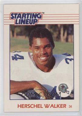 1988 Kenner Starting Lineup Cards - Toys [Base] #HEWA - Herschel Walker