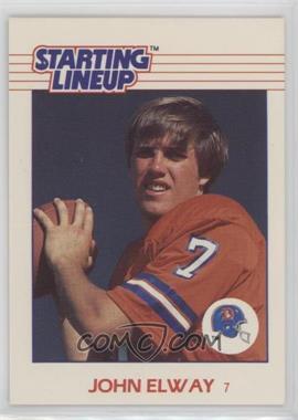1988 Kenner Starting Lineup Cards - Toys [Base] #JOEL - John Elway