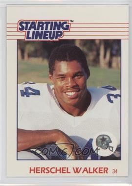 1988 Kenner Starting Lineup Cards Toys [Base] #HEWA - Herschel Walker