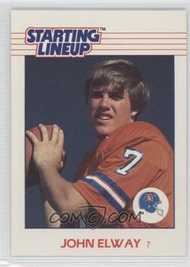 1988 Kenner Starting Lineup Cards Toys [Base] #JOEL - John Elway