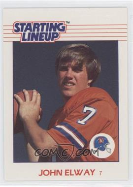 1988 Starting Lineup Cards Toys [Base] #JOEL - John Elway