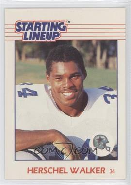 1988 Starting Lineup Cards Toys [Base] #NoN - Herschel Walker