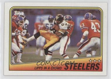 1988 Topps - [Base] #162 - Pittsburgh Steelers Team