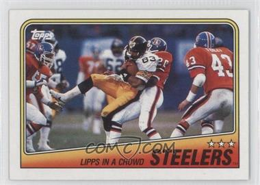 1988 Topps #162 - Pittsburgh Steelers Team