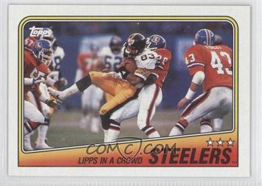 1988 Topps #162 - Pittsburgh Steelers Team