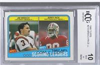 Jim Breech, Jerry Rice [ENCASED]