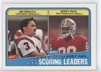 Jim Breech, Jerry Rice