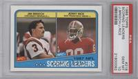 Jim Breech, Jerry Rice [PSA 10]