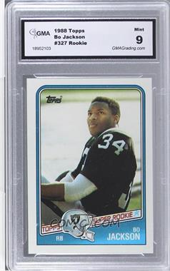 1988 Topps #327 - Bo Jackson [ENCASED]