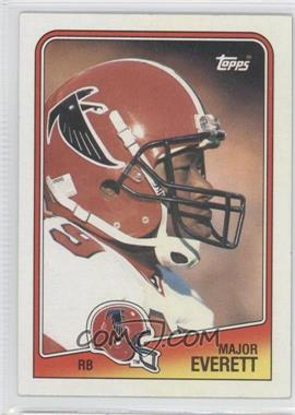 1988 Topps #389 - Major Everett