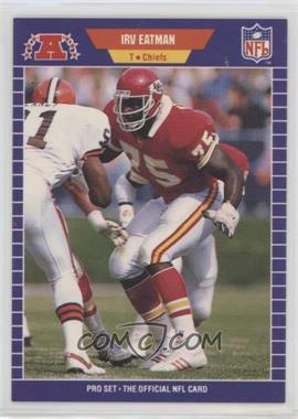 1989 Pro Set - [Base] #170 - Irv Eatman