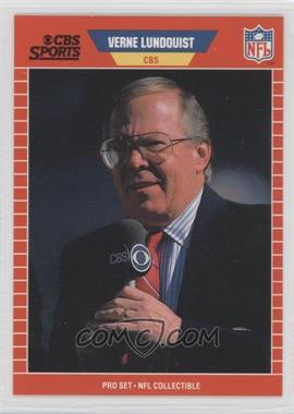 1989 Pro Set Announcers #21 - Verne Lundquist